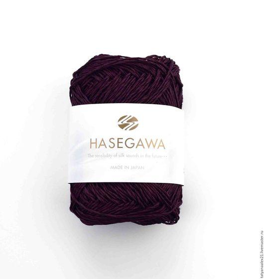 Вязание ручной работы. Ярмарка Мастеров - ручная работа. Купить Пряжа Hasegawa FORZA 38 VIOLET. Handmade. Пряжа в мотках