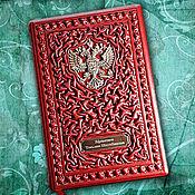 """Подарки к праздникам handmade. Livemaster - original item Ежедневник из натуральной цветной кожи """"Ваша светлость"""". Handmade."""