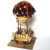 Подарки к праздникам ручной работы. Ярмарка Мастеров - ручная работа Воздушный шар из конфет. Handmade.