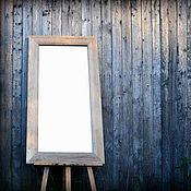 Для дома и интерьера handmade. Livemaster - original item Large mirror in oak frame. Wall mirror.. Handmade.
