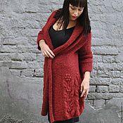 Одежда handmade. Livemaster - original item Knitted cardigan. Handmade.