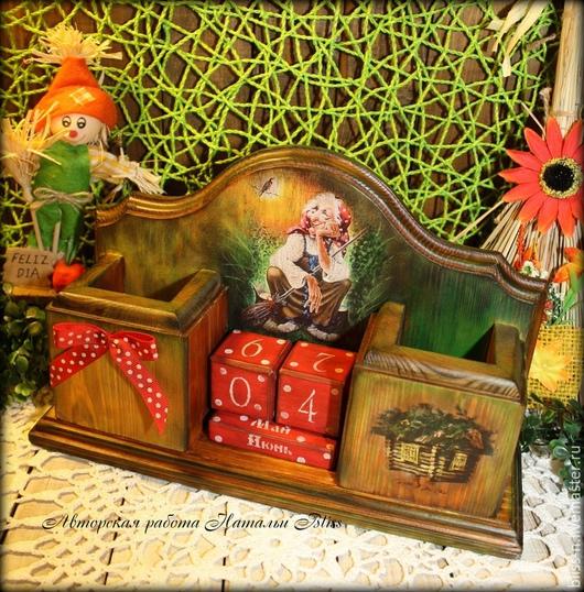 """Календари ручной работы. Ярмарка Мастеров - ручная работа. Купить Вечный календарь """"Баба-Яга, самая добрая и порядошная"""". Handmade."""