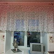 Для дома и интерьера ручной работы. Ярмарка Мастеров - ручная работа Штора.Кухня.Тюль.. Handmade.
