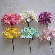 Материалы для творчества ручной работы. Ярмарка Мастеров - ручная работа 6 цветов Лилии для скрапбукинга ч.1. Handmade.
