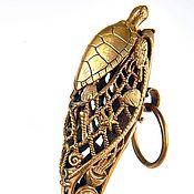 Для дома и интерьера handmade. Livemaster - original item Shoehorn turtle 40 cm. Handmade.