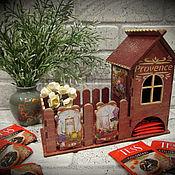"""Для дома и интерьера ручной работы. Ярмарка Мастеров - ручная работа Чайный домик """"provence"""" (№18). Handmade."""