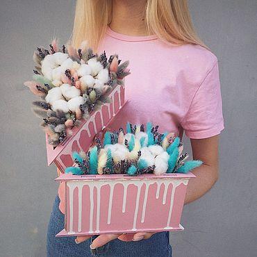 Для дома и интерьера ручной работы. Ярмарка Мастеров - ручная работа Композиция «Pink Cake». Handmade.