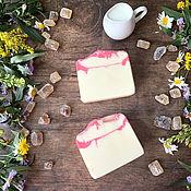 Косметика ручной работы handmade. Livemaster - original item Natural soap on mare`s milk Sugar. Handmade.