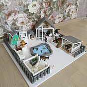 Кукольные домики ручной работы. Ярмарка Мастеров - ручная работа Набор Юный Фермер. Handmade.