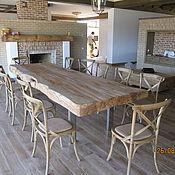 Для дома и интерьера handmade. Livemaster - original item Table of slab beech. Handmade.