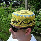 """Одежда ручной работы. Ярмарка Мастеров - ручная работа Летняя шапка  """"Кенгуру 3"""". Handmade."""