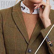 Одежда handmade. Livemaster - original item Costumes: Women`s wool suit with skirt. Handmade.