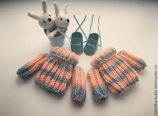 Коллекционные куклы ручной работы. Ярмарка Мастеров - ручная работа. Купить Свитер для куклы. Handmade. Комбинированный, ботиночки для кукол