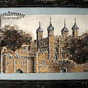 Картины и панно handmade. Livemaster - original item Watercolor painting, TOWER of London, a series of sketches. Handmade.