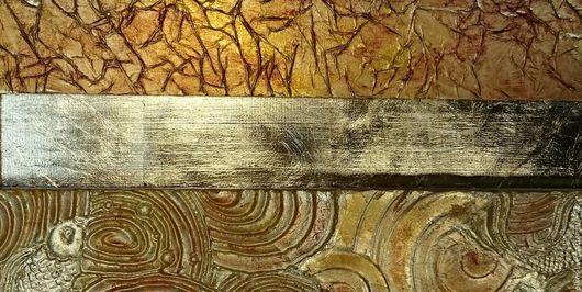 Декор поверхностей ручной работы. Ярмарка Мастеров - ручная работа. Купить Декор поверхности стены, стула, стола, рамы, двери, потолок поталью. Handmade.