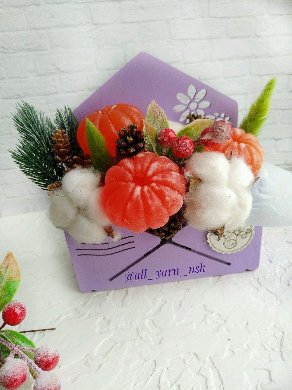 Новогоднее сувенирное мыло! Мыло мандарин, Мыло, Новосибирск,  Фото №1