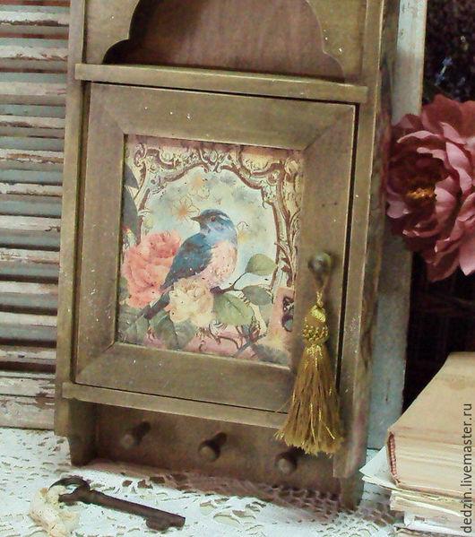 """Прихожая ручной работы. Ярмарка Мастеров - ручная работа. Купить Ключница """"Дверца в сказку"""". Handmade. Комбинированный, подарок на любой случай"""