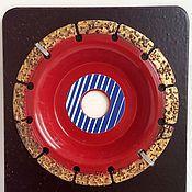 Материалы для творчества ручной работы. Ярмарка Мастеров - ручная работа Обдирочный диск средне грубый. Handmade.