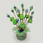 Цветы и флористика handmade. Livemaster - original item Flowers from agate