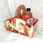 Для дома и интерьера handmade. Livemaster - original item Box for spices Storekeeper. Handmade.