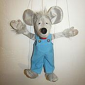 Кукольный театр ручной работы. Ярмарка Мастеров - ручная работа Кукольный театр: Мышонок марионетка. Handmade.