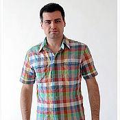 Одежда ручной работы. Ярмарка Мастеров - ручная работа Рубашка РБм -0001. Handmade.
