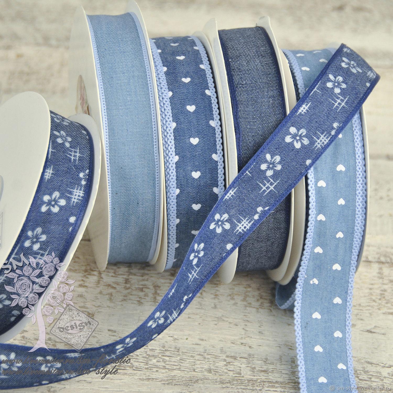 Джинсовая тесьма набор для вышивания звездная ночь ван гог