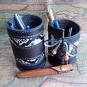 Канцелярские товары handmade. Livemaster - original item Glass for pens, pencils.. Handmade.