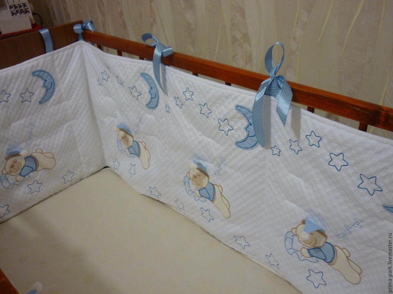 Бортики в кроватку малыша своими руками: идеи, выкройки 97