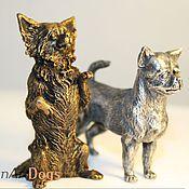 Для дома и интерьера ручной работы. Ярмарка Мастеров - ручная работа ЧИХУАХУА - статуэтка (оловянная миниатюрная фигурка собаки). Handmade.