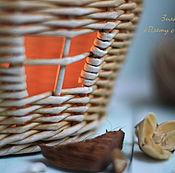 Для дома и интерьера ручной работы. Ярмарка Мастеров - ручная работа Плетеная корзинка В гостях у сказки. Handmade.