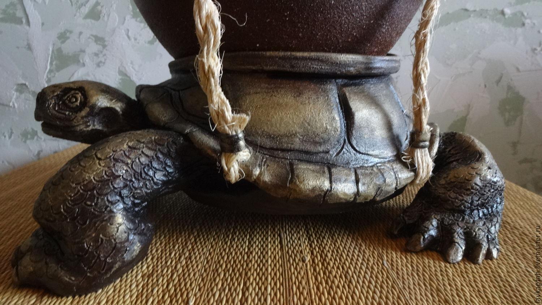 Черепаха (интерьерная композиция)