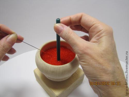 Для украшений ручной работы. Ярмарка Мастеров - ручная работа. Купить Спиннер для нанизывания бисера на проволоку. Handmade. Спиннер