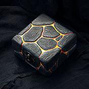 Для дома и интерьера handmade. Livemaster - original item Carved wooden jewelry box. Handmade.