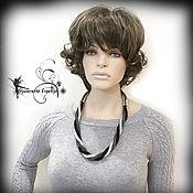 Necklace handmade. Livemaster - original item Transformer! Harness beaded necklace and bracelet