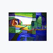 Картины и панно ручной работы. Ярмарка Мастеров - ручная работа репродукция Тона Шультена. Handmade.