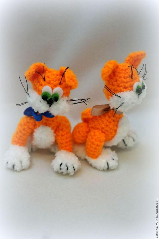 """Игрушки животные, ручной работы. Ярмарка Мастеров - ручная работа. Купить """"Просто Кот"""". Handmade. Оранжевый, котенок, котики, кошка"""