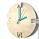 Часы для дома ручной работы. Часы из дерева Норд. Часы ручной работы. Ansem-store. Интернет-магазин Ярмарка Мастеров.