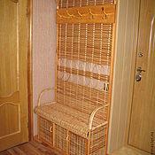 Для дома и интерьера ручной работы. Ярмарка Мастеров - ручная работа Вешалка в прихожую плетёная - 2. Handmade.