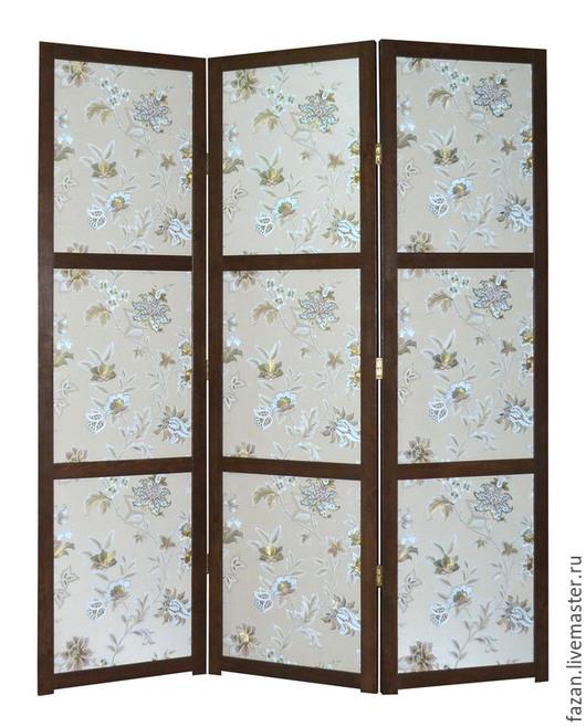 Ширма Венецианские Цветы, 3 секции