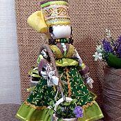 Народная кукла ручной работы. Ярмарка Мастеров - ручная работа Богатеюшка - традиционный славянский оберег на богатство и прибыль. Handmade.