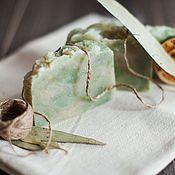Косметика ручной работы. Ярмарка Мастеров - ручная работа Натуральное мыло Чайное дерево и эвкалипт, с нуля, для проблемной кожи. Handmade.