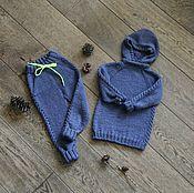 Одежда ручной работы. Ярмарка Мастеров - ручная работа Уютный костюм для малыша. Handmade.
