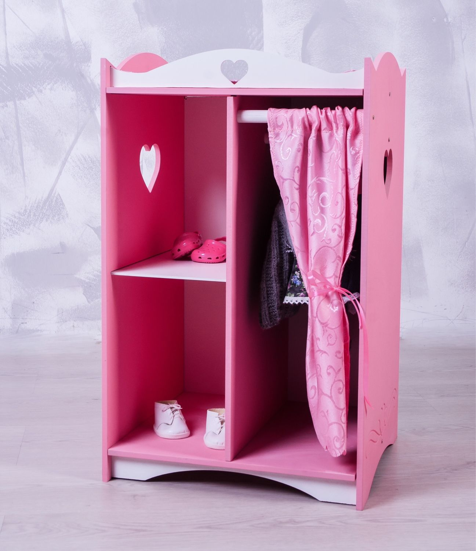 кукольный шкаф с пеленальным столиком купить в интернет магазине