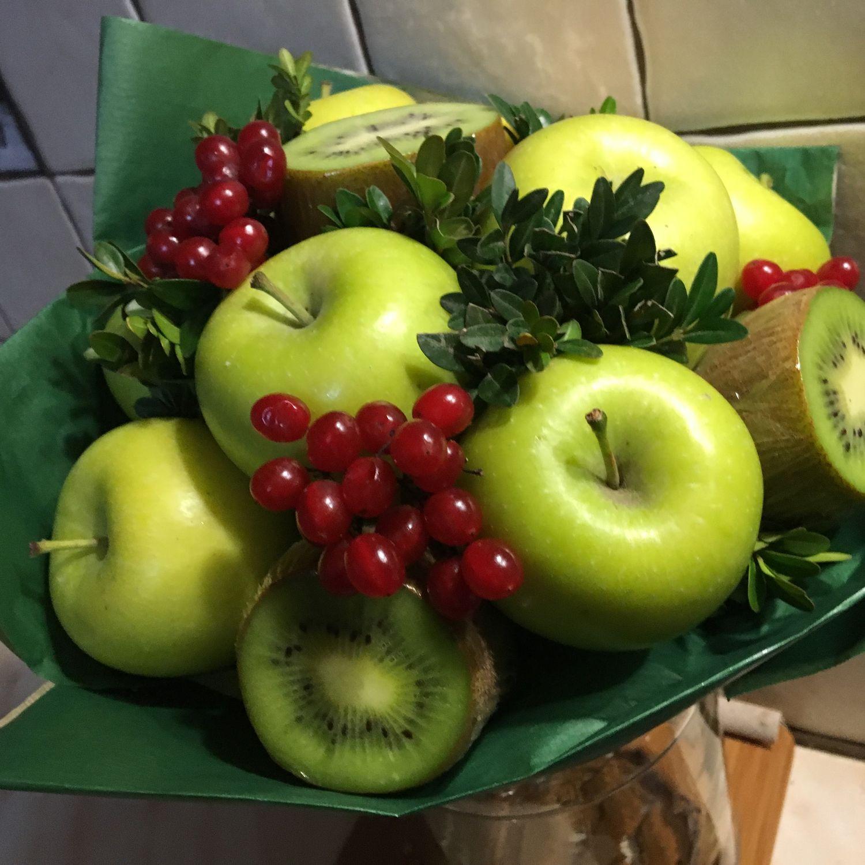 Вкусный букет. Green small, Букеты, Москва,  Фото №1