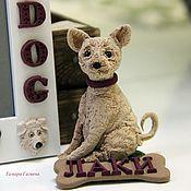 Куклы и игрушки ручной работы. Ярмарка Мастеров - ручная работа Ваша собачка. Handmade.