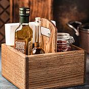 Для дома и интерьера handmade. Livemaster - original item Stand for condiments and napkins XL 165mm. Handmade.