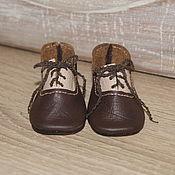 Куклы и игрушки ручной работы. Ярмарка Мастеров - ручная работа туфли для  куклы.. Handmade.