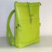 Сумки и аксессуары handmade. Livemaster - original item Backpack leather 151z. Handmade.