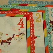 Работы для детей, ручной работы. Ярмарка Мастеров - ручная работа платочки носовые  детские. Handmade.